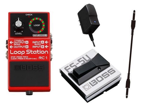 【送料無料】ボス BOSS RC-1(ACアダプター+フットスイッチ/FS-5U+接続ケーブル付) Loop Station【smtb-TK】