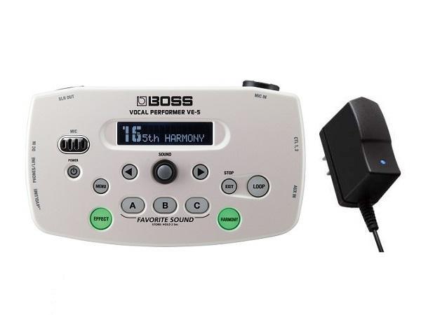 【送料無料】ボス BOSS VE-5-WH(純正ACアダプター/PSA-100S2付)【smtb-TK】