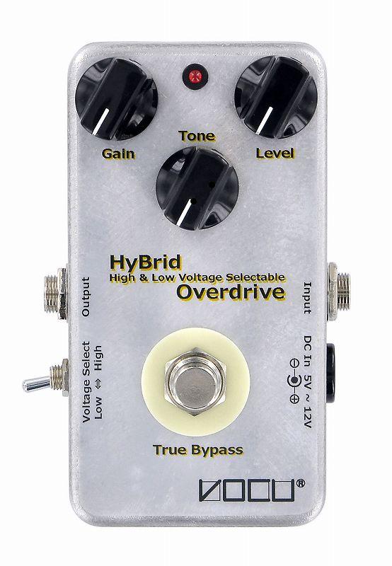 ヴォーキュ VOCU HyBrid Overdrive 電圧昇圧機能付 オーバードライブ【送料無料】【smtb-TK】