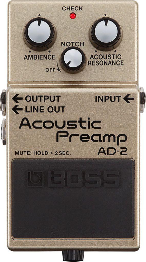 【送料無料】ボス BOSS AD-2 Acoustic Preamp エレアコ用プリアンプ【smtb-TK】