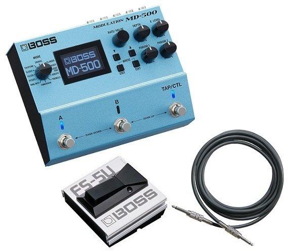 【送料無料】ボス BOSS MD-500(フットスイッチ/FS-5U+接続ケーブル付) 創造力を刺激して音作りの幅を無限に広げるモジュレーション・ペダル【smtb-TK】