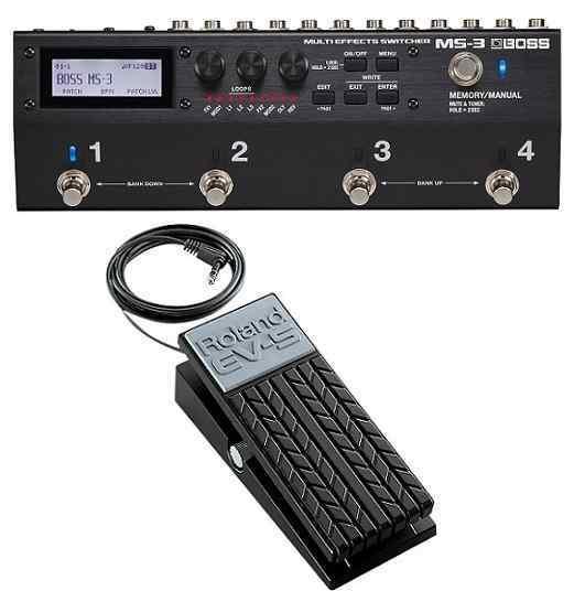 【送料無料】ボス BOSS MS-3(エクスプレッションペダル/EV-5付) Multi Effects Switcher スイッチャー 進化した統合型ペダルボード・ソリューション【smtb-TK】