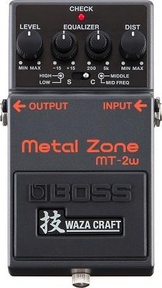 【送料無料】ボス BOSS MT-2W Metal Zone 技 WAZA CRAFT 日本製【smtb-TK】