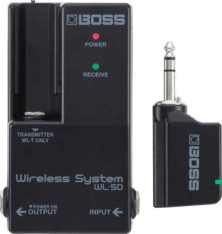 BOSS WL-50 ボス ペダルボード組み込み用にデザインされた高機能ワイヤレス【smtb-TK】【送料無料】