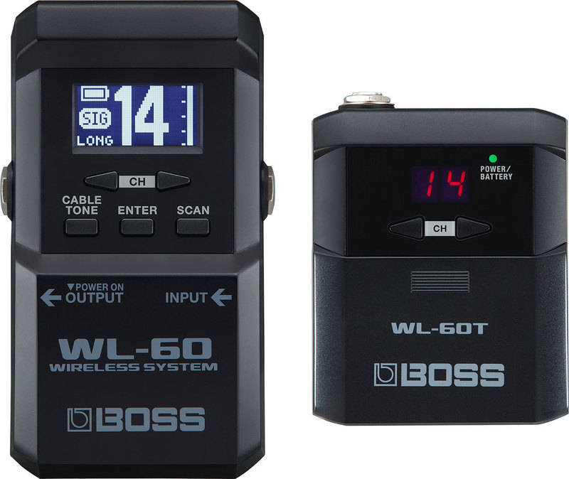BOSS WL-60 ボス 大型LCD搭載のペダル型ワイヤレス【smtb-TK】【送料無料】