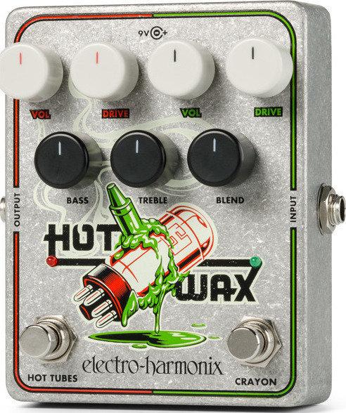 【送料無料】ELECTRO HARMONIX Hot Wax デュアル・オーバードライブペダル/国内正規品【smtb-TK】