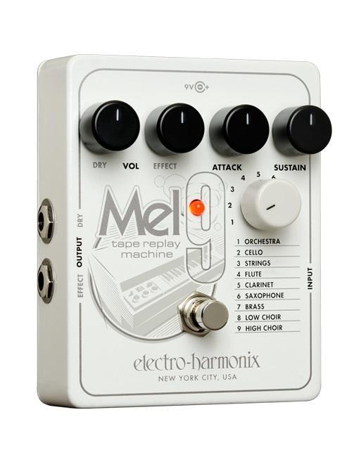 【送料無料】ELECTRO HARMONIX MEL9 Tape Replay Machine Mellotron メロトロン エミュレート ペダル【国内正規品】【smtb-TK】