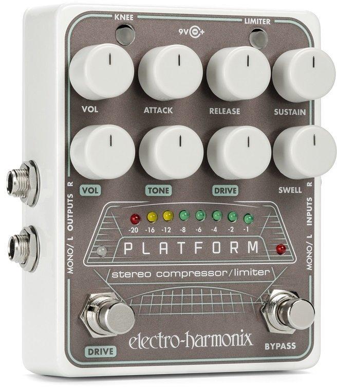 【送料無料】ELECTRO HARMONIX Platform Stereo Compressor/Limiter ステレオ・コンプレッサー/リミッター【smtb-TK】
