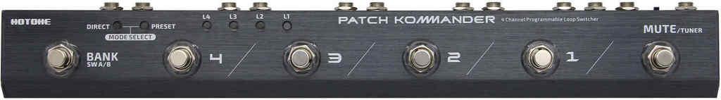 【送料無料】HOTONE PATCH KOMMANDER LS-10 プログラマブル・ループ・スイッチャー【smtb-TK】