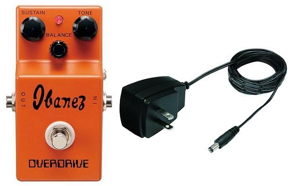 【送料無料】アイバニーズ Ibanez OD850+AC509/純正ACアダプター Overdrive(オーバードライブ) SoundTank Tone-Lok 9シリーズ Tube Screamer【smtb-TK】