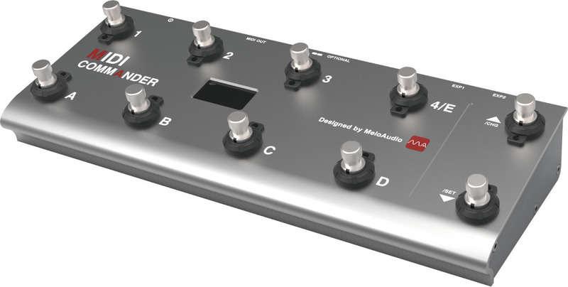 【送料無料】Melo Audio MIDI Commander 充電池内蔵 MIDIフットコントローラー【smtb-TK】