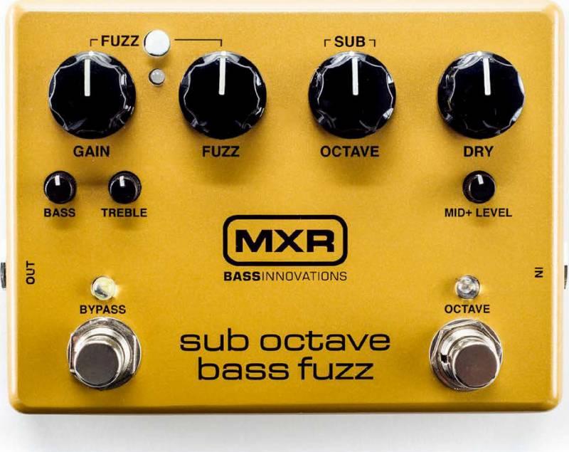 【送料無料】MXR M287 Sub Octave Bass Fuzz ベース用 ファズ/国内正規品【smtb-TK】