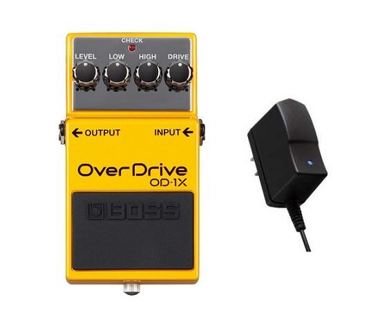 【送料無料】ボス BOSS OD-1X/Overdrive(純正ACアダプターPSA-100S2付) 最先端のオーバードライブ【smtb-TK】