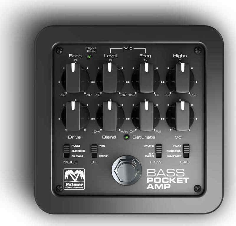 【送料無料】Palmer Pocket Amp Bass ベース用 プリアンプ / D.I.【smtb-TK】