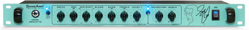 【送料無料】サンズアンプ/テック21 Tech21 Sans Amp GED-2112 Geddy Lee(Rush) シグネチャー ベース用プリアンプ/ダイレクト・ボックス【smtb-TK】【国内正規品】