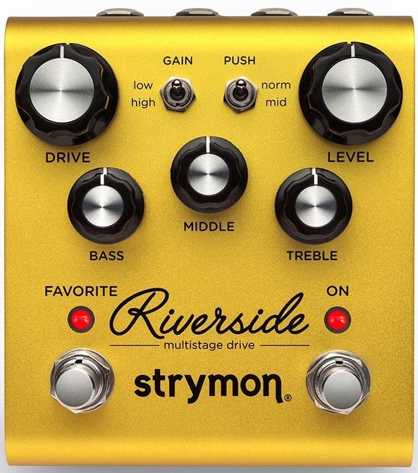 【送料無料】ストライモン Strymon Riverside Multistage Drive オーバードライブ / ディストーション【smtb-TK】