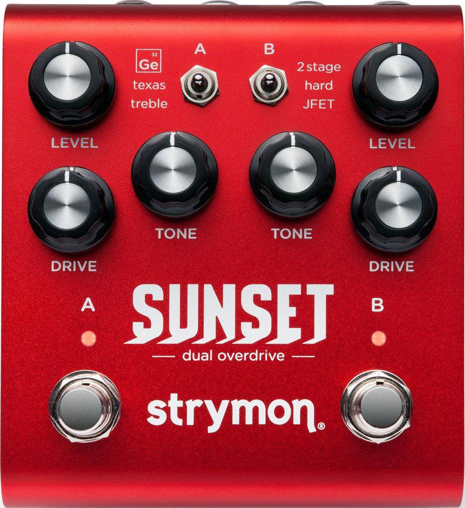 【送料無料】ストライモン Strymon SUNSET Dual Overdrive オーバードライブ / ブースター【smtb-TK】