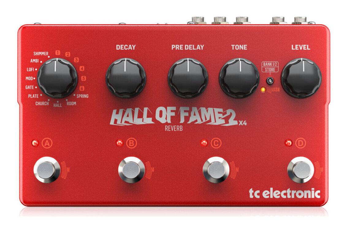 tc electronic HALL OF FAME 2 X4 REVERB リバーブ【送料無料】【smtb-TK】