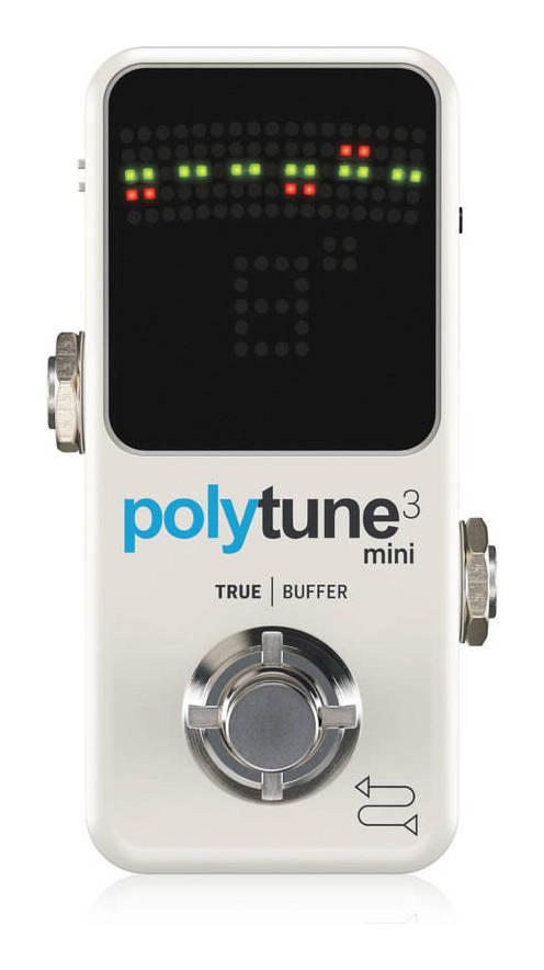 tc electronic POLYTUNE 3 MINI コンパクト・ポリフォニック・チューナー【送料無料】【smtb-TK】