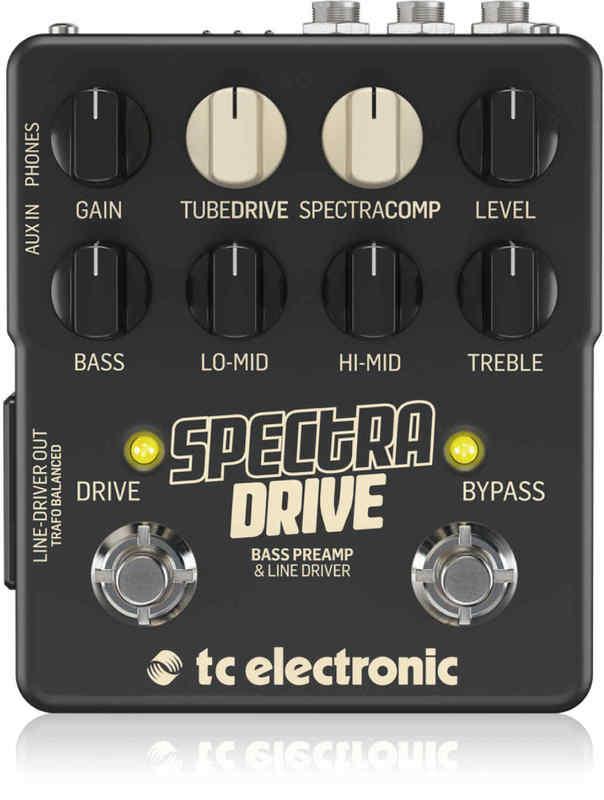 【送料無料】tc electronic SPECtRA DRIVE BASS PREAMP & LINE DRIVER ベース・プリアンプ/ライン・ドライバー【smtb-TK】