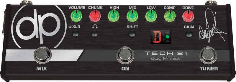 【送料無料】テック21 Tech21 DP-3X dUg Pinnick(King's X) シグネチャー ベース用プリアンプ / オーバードライブ【smtb-TK】【国内正規品】