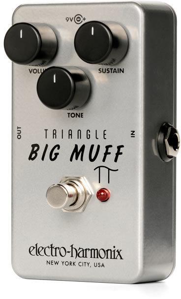 ELECTRO HARMONIX Triangle Big Muff Pi Distortion / Sustainer オリジナル ビッグ・マフ 復刻モデル【smtb-TK】【送料無料】【国内正規品】