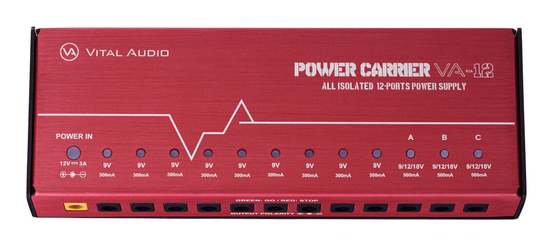VITAL AUDIO POWER CARRIER VA-12 オールアイソレート・パワーサプライ【smtb-TK】【送料無料】