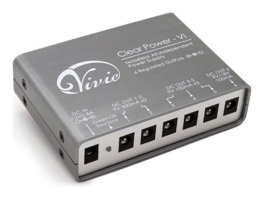 Vivie Clear Power - VI パワーサプライ【送料無料】【smtb-TK】