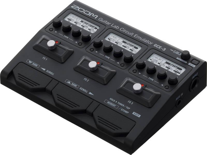 【限定ZOOMピック2枚付】ZOOM GCE-3【送料無料】ズーム ギター/ベース用USBオーディオ・インターフェース【smtb-TK】