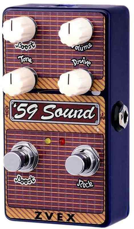 【送料無料】Z.VEX '59 Sound Vertical ディストーション【smtb-TK】