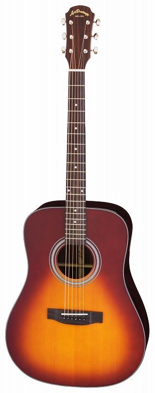 【送料無料】アリア ARIA AD-215 TS トップ単板 アコースティックギター/ケース付【smtb-TK】