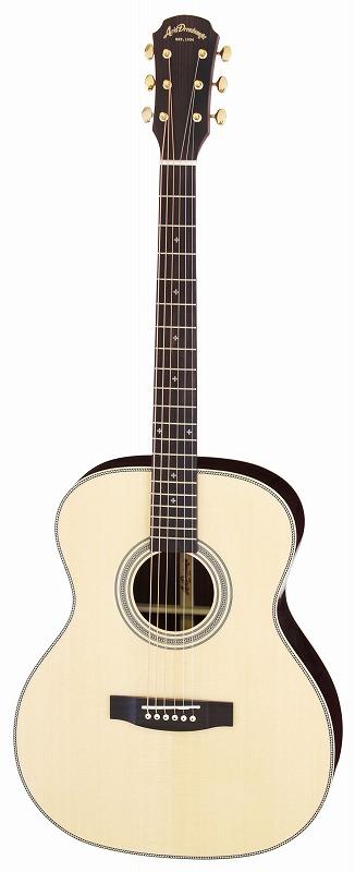 【送料無料】アリア ARIA AF-505 N オール単板 アコースティックギター/ケース付【smtb-TK】