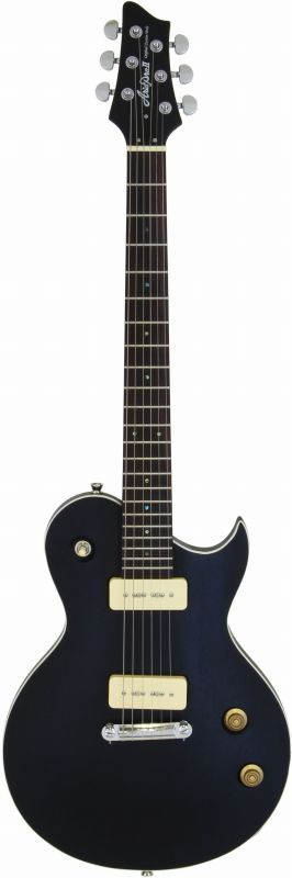 【送料無料】AriaProII PE-TR2 STBK(Stained Black) エレキギター/ソフトケース付【smtb-TK】