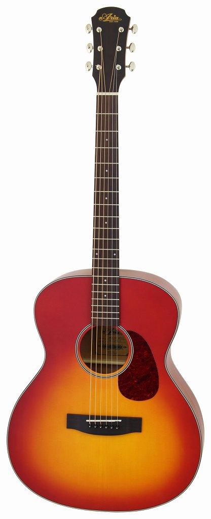 【送料無料】アリア ARIA ARIA-101/MTCS マット塗装 フォークタイプ アコースティックギター/ソフトケース付【smtb-TK】