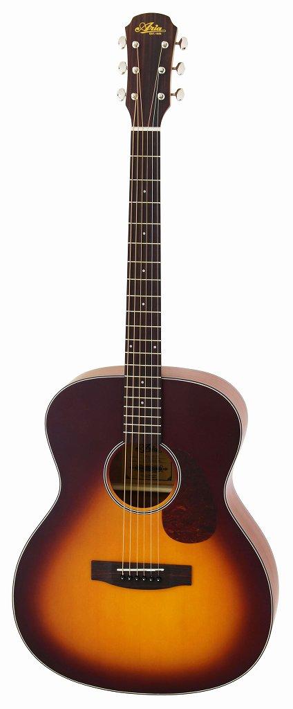 【送料無料】アリア ARIA ARIA-101/MTTS マット塗装 フォークタイプ アコースティックギター/ソフトケース付【smtb-TK】