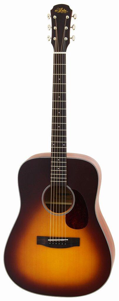 【送料無料】アリア ARIA ARIA-111/MTTS マット塗装 ドレッドノートタイプ アコースティックギター/ソフトケース付【smtb-TK】