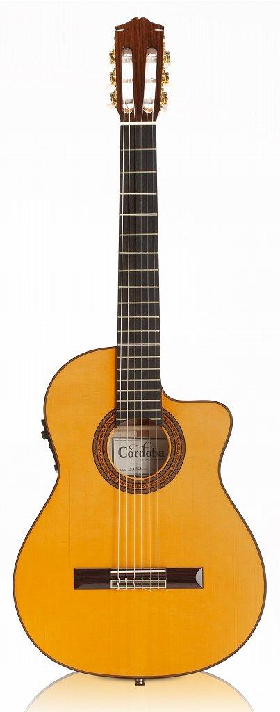 【送料無料】コルドバ Cordoba 55FCE FISHMAN プリアンプ搭載 エレガット クラシックギター /ハードケース付【smtb-TK】