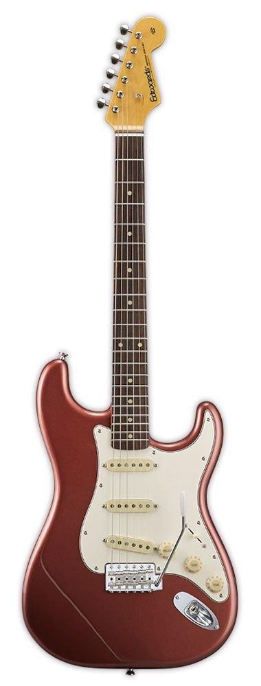 【送料無料】エドワーズ edwards E-ST-90ALR Burgundy Mist ストラトタイプ エレキギター【smtb-TK】