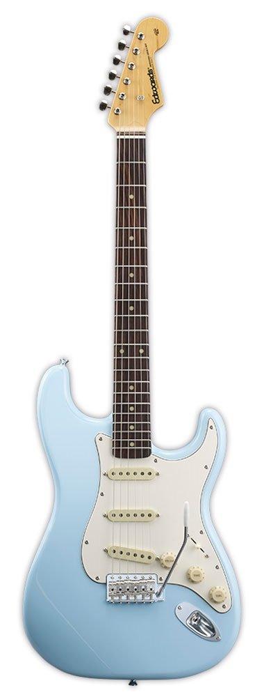 【送料無料】エドワーズ edwards E-ST-90ALR Sonic Blue ストラトタイプ エレキギター【smtb-TK】