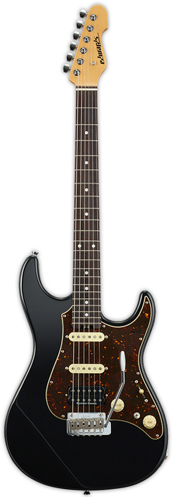 【送料無料】エドワーズ EDWARDS E-SN-ALR 22/SSH/R Black エレキギター【smtb-TK】