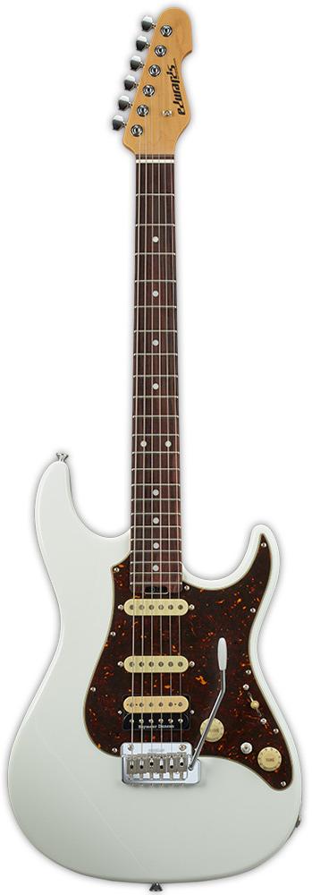 【送料無料】エドワーズ EDWARDS E-SN-ALR 22/SSH/R White エレキギター【smtb-TK】