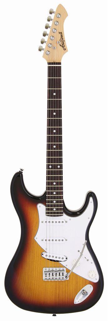 【送料無料】アリアプロツー Aria ProII FL-STD I/3TS(3 Tone Sunburst) Klein ピックアップ搭載 エレキギター/ギグバッグ付【smtb-TK】