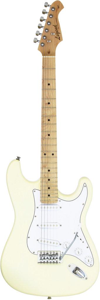 【送料無料】レジェンド Legend LST-Z SPL M/VW (Vintage White) ストラトキャスタータイプ エレキギター /ケース付【smtb-TK】