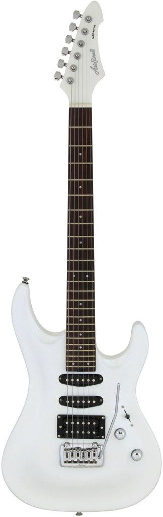 【送料無料】アリアプロツー AriaProII MAC-STD PWH(Pearl White) エレキギター/ケース付【smtb-TK】