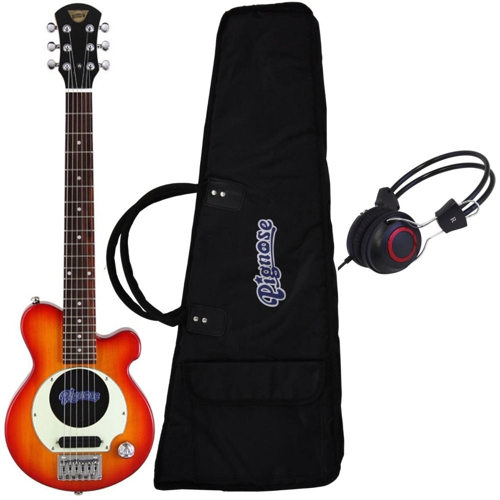 【送料無料】ピグノーズ Pignose PGG-200 CS+ヘッドホン アンプ内蔵ギター【smtb-TK】