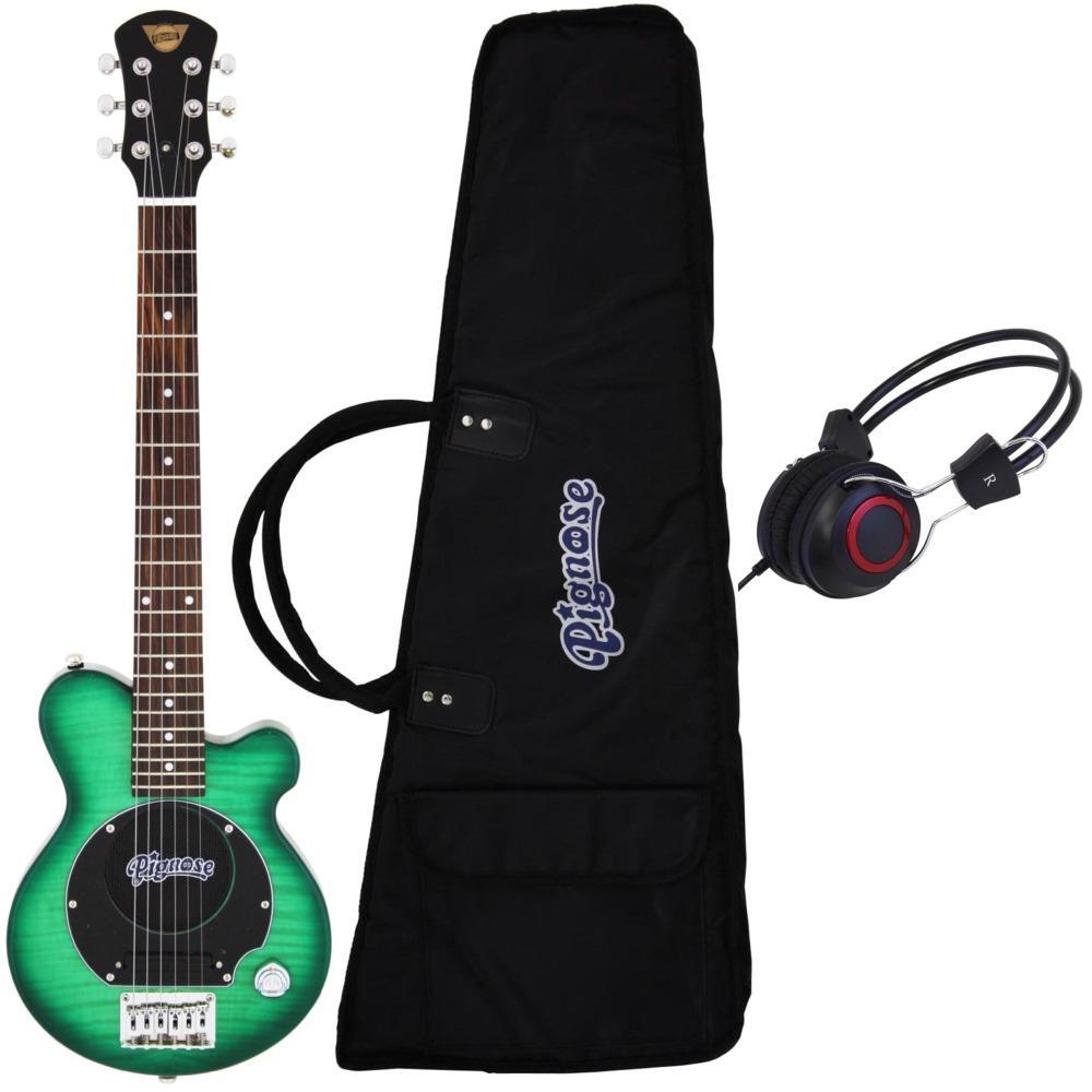 【送料無料】ピグノーズ Pignose PGG-200/FM SGR+ヘッドホン アンプ内蔵ギター【smtb-TK】