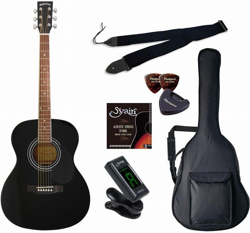 【送料無料】セピアクルー Sepia Crue FG-10/BK/初心者入門6点セット アコースティックギター ライトセット 【smtb-TK】