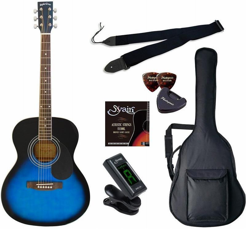 【送料無料】セピアクルー Sepia Crue FG-10/BLS/初心者入門6点セット アコースティックギター ライトセット 【smtb-TK】
