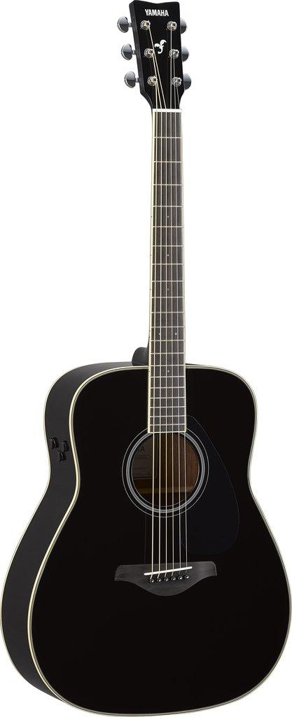 【送料無料】ヤマハ YAMAHA FG-TA BL ギターの生音にエフェクト トランスアコースティックギター ブラック (ソフトケース付)【代金引換不可】【smtb-TK】