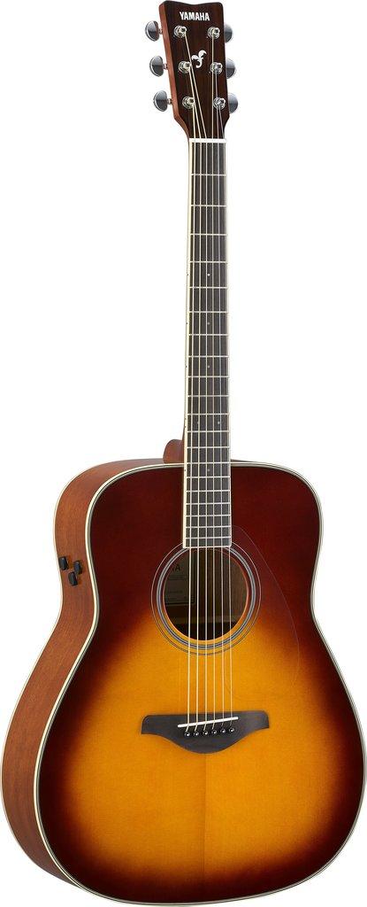 【送料無料】ヤマハ YAMAHA FG-TA BS ギターの生音にエフェクト トランスアコースティックギター ブラウンサンバースト (ソフトケース付)【代金引換不可】【smtb-TK】